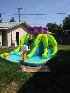 Inflatable kids water slide rental Bakersfield, CA