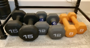 Hand Weights 4 sets  rental Jacksonville, FL
