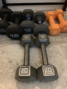 Hand Weights 4 sets  rental Jacksonville, FL