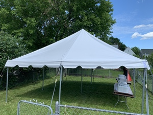 20 x 20 Pole Tent  rental Syracuse, NY