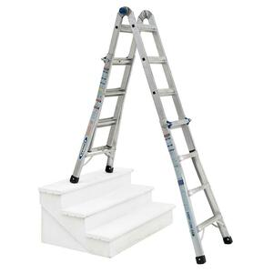 5-in-1 22' Reach Adjustable Werner Ladder rental Boston, MA-Manchester, NH