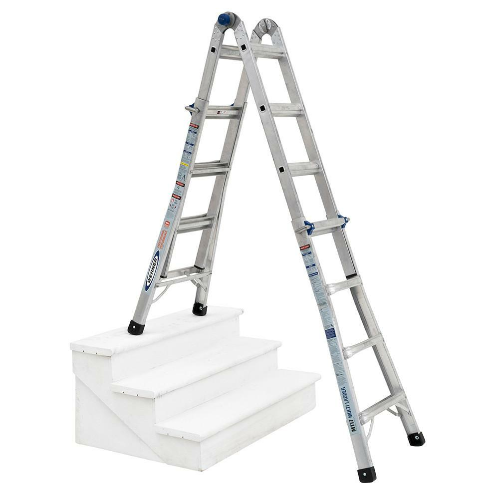 Melrose Ma Apartments: Loanables:5-in-1 22' Reach Adjustable Werner Ladder Rental