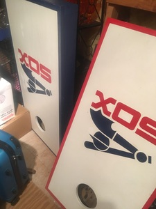 Corn hole toss game  rental Mobile, AL-Pensacola, FL