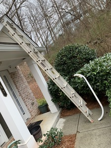 Ladder 20 foot feet ft rental Atlanta, GA