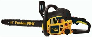 "Poulan 18"" gas chainsaw rental Nashville, TN"