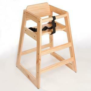 Wooden High Chair rental Huntsville-Decatur (Florence), AL