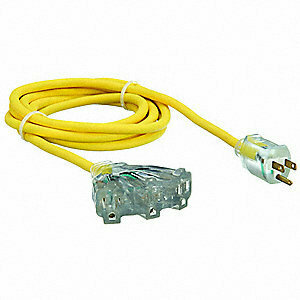 Triple Outlet Extension Cord - 25' rental Huntsville-Decatur (Florence), AL