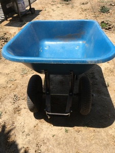 Plastic two wheel wheelbarrow rental Los Angeles, CA