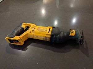 Dewalt 20V Max cordless reciprocating saw rental Austin, TX