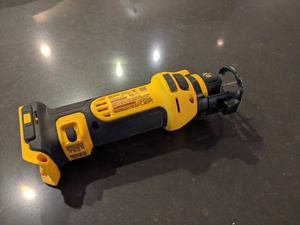 Dewalt cordless Rotary / Drywall cut-out tool rental Austin, TX