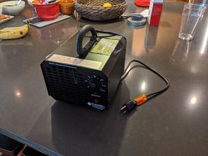 Ozone generator - Deodorizer and sterilizer rental Austin, TX
