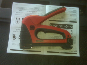 Gardner Bender Cable boss staple gun rental Austin, TX