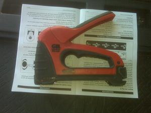 Gardner Bender Cable boss staple gun rental Austin, TX