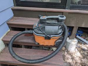Wet/dry shop vac vacuum rental Austin, TX