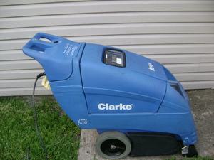 Clarke commercial  carpet cleaner rental Austin, TX