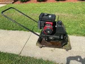 Stone Plate Compactor rental Greenville-New Bern-Washington, NC