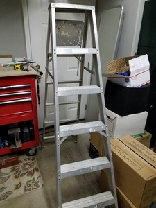 A frame ladder aluminum 5.5 ft rental Salt Lake City, UT