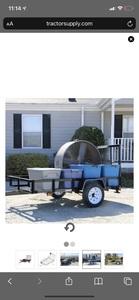 5x8 Utility trailer  rental Austin, TX
