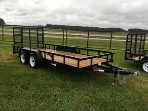 6 X 16 Utility Trailer W/ Drop Down Gate rental Tampa-St Petersburg (Sarasota), FL