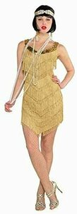 AMSCAN Roaring '20s Champagne Flapper Dress  rental Miami-Ft. Lauderdale, FL