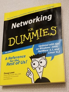 Book: Networking For Dummies  rental Washington, DC (Hagerstown, MD)
