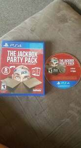 JackBox Party Pack PS4 DVD rental Boston, MA-Manchester, NH