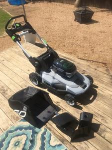 E-Go Electric Lawnmower rental Dallas-Ft. Worth, TX