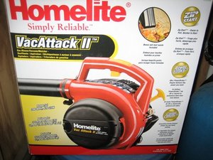 2 stroke gas blower / vac rental Austin, TX