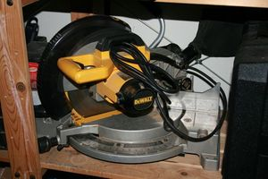 "Dewalt 12"" Bevel Compound Mitre Saw rental Austin, TX"