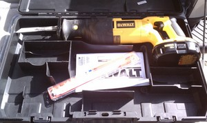 Dewalt 18v Reciprocating Saw and Battery rental Austin, TX