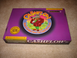 Cashflow 101 and 202 board game rental Austin, TX