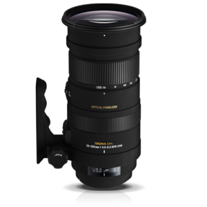 50-500mm F4.5-6.3 APO DG OS HSM Lens for Nikon  rental Shreveport, LA
