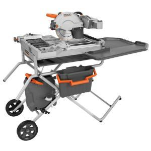Ridgid 10'' wet tile saw rental Augusta, GA