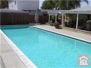 Pool Back yard  rental Los Angeles, CA