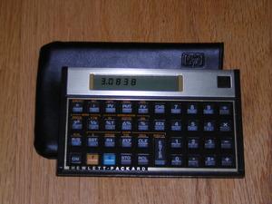 Hewlet Packard HP 12C financial calculator rental Los Angeles, CA