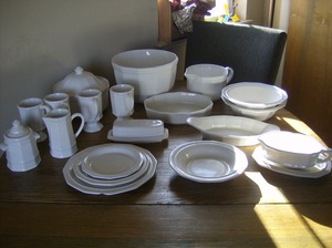 Pfalztgraff Heritage table and dish set rental Denver, CO