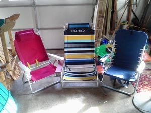 Beach Chairs rental Richmond-Petersburg, VA