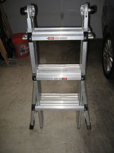 Ladder - Gorilla - Adjustable - Aluminum rental Austin, TX